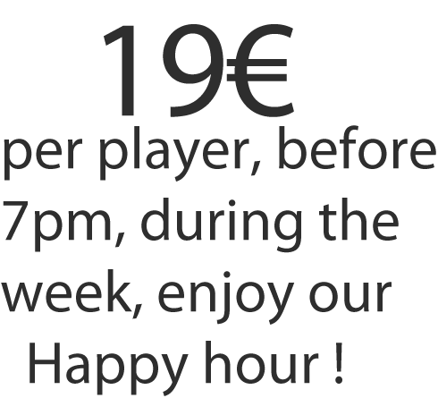 ExitGame, timeout happy hour